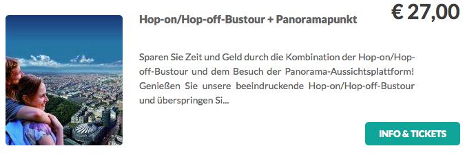 Berliner Hop On Hop Off Tour Panorama