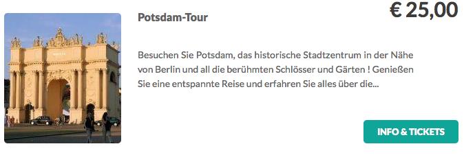 Potsdam Tour