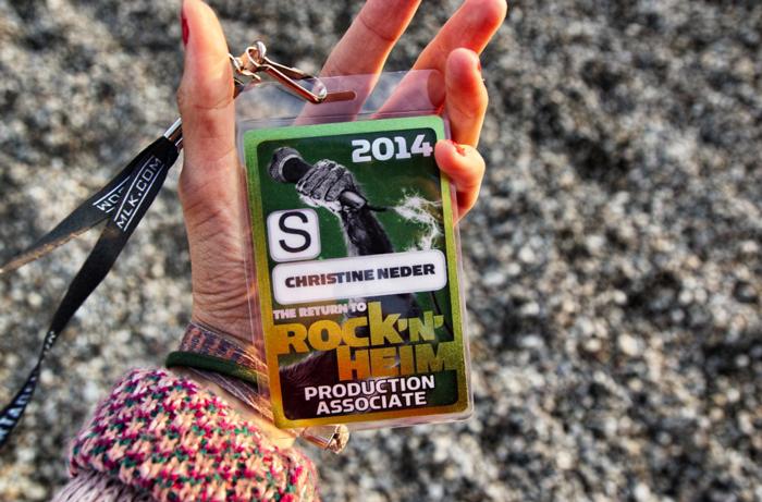 Christine Neder Rocke'n'heim Festival 2014