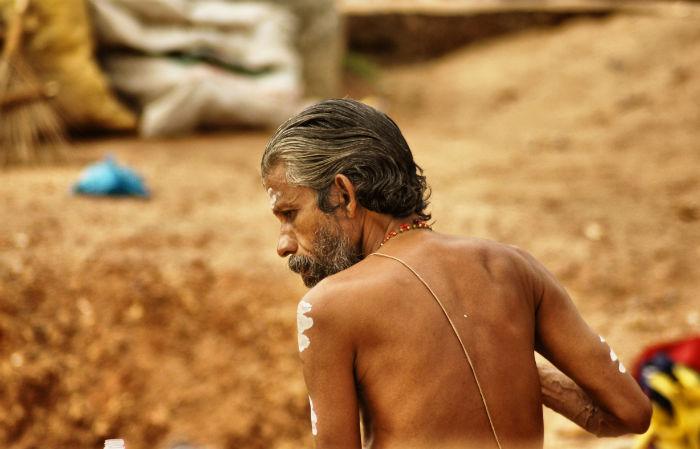 Heiliger in Indien