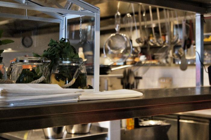 Hotel Brooklyn Küche