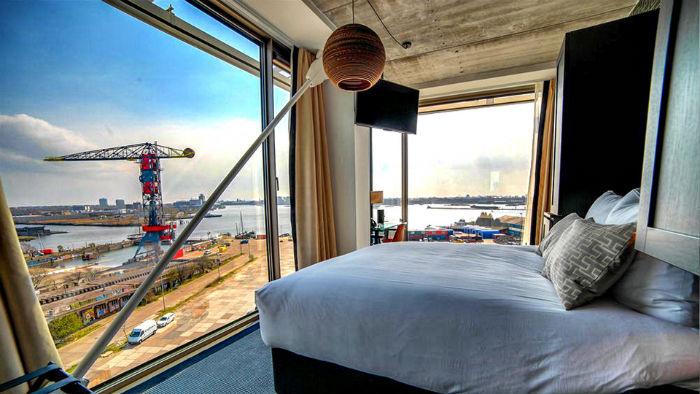 Hotel Brooklyn Zimmer mit Aussicht