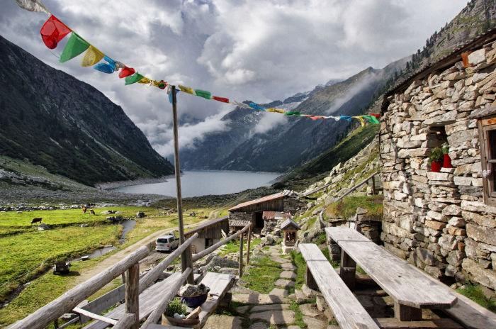 Hütte-Klein-Tibet