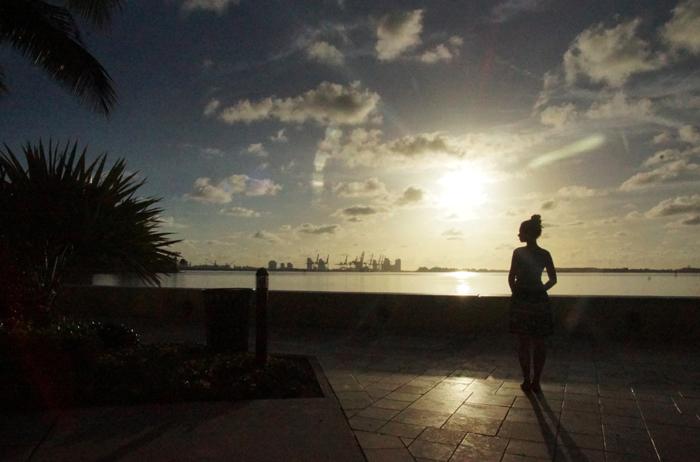 Miami-Sonnenaufgang