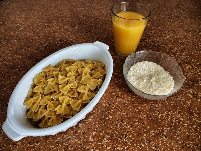 Farfalle küsst Orange 3