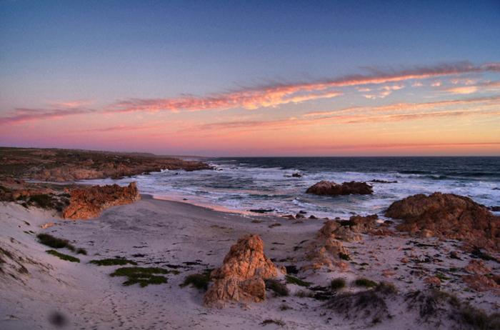 Sonnenuntergang-Atlantik