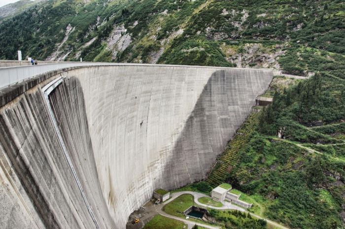 Staudamm-Tillertal