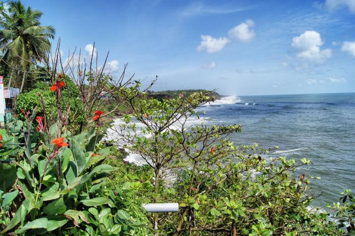 urlaub_in_indien_Strand von Varkala Kerala Indien