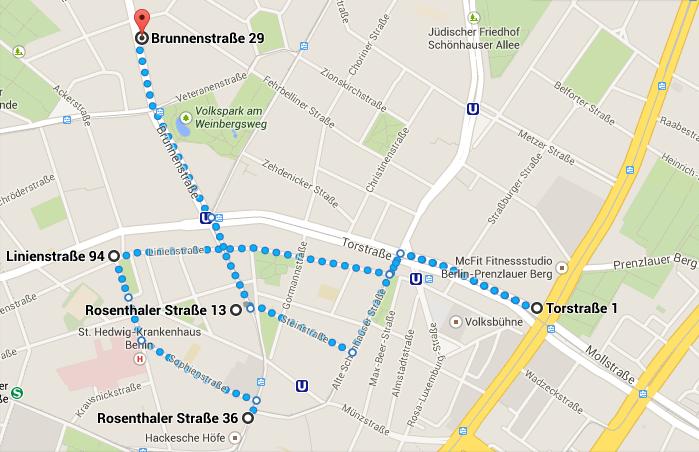 Tour-Route-Google-Maps