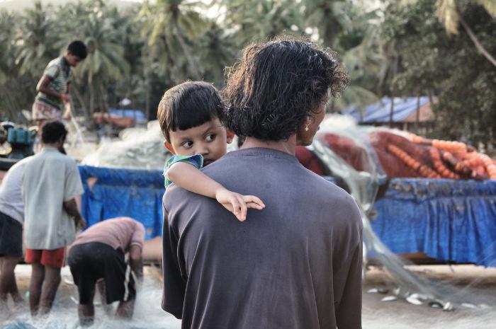 urlaub_in_indien_Vater und Sohn in Goa