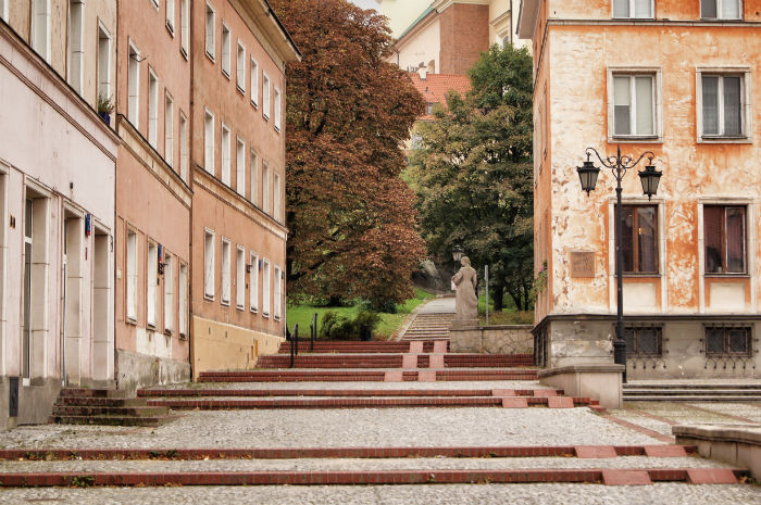 Warschau leer