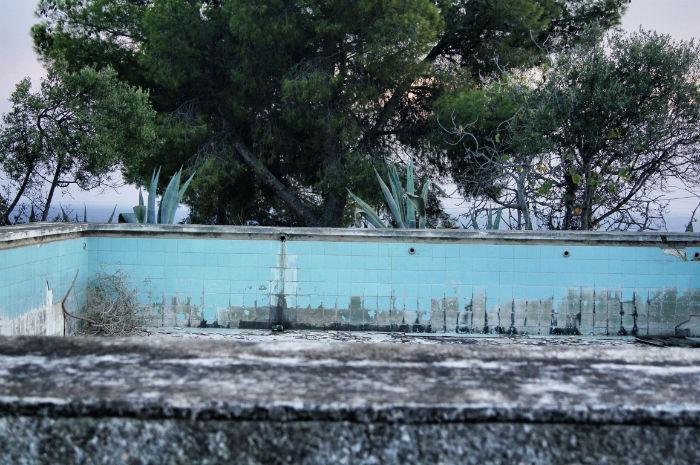 Casa Erica verlassener Pool
