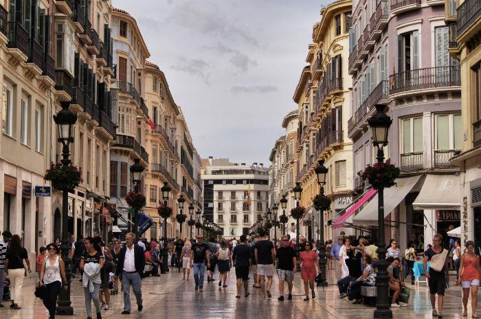 Einkaufen Malaga