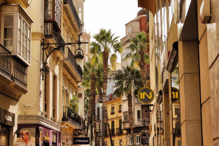 Gassen in Malaga