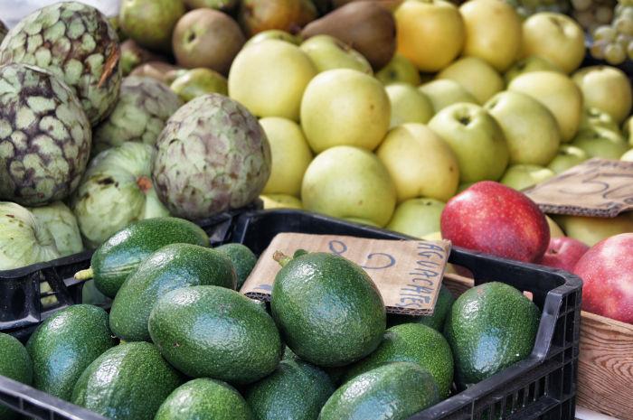 Gemüse Markt Torre del Mar