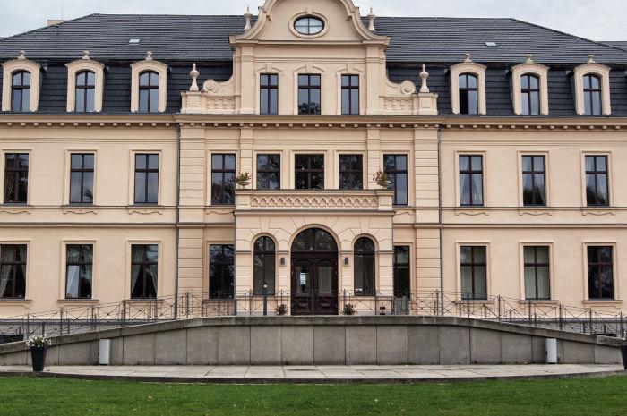Schloss Ribbeck von außen