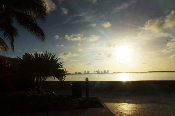 Bayside-Sonnenaufgang