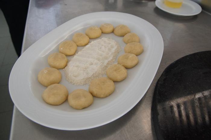 Chapathi-Zubereitung