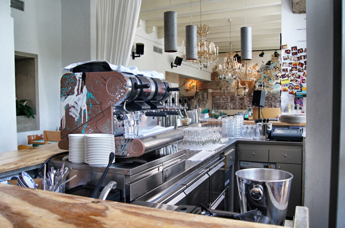 Kaffee-Speisesaal