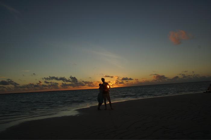 Malediven-Sonnenuntergang-Kuramathi