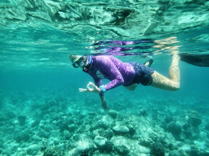 Meeresbiologin-Kuramathi