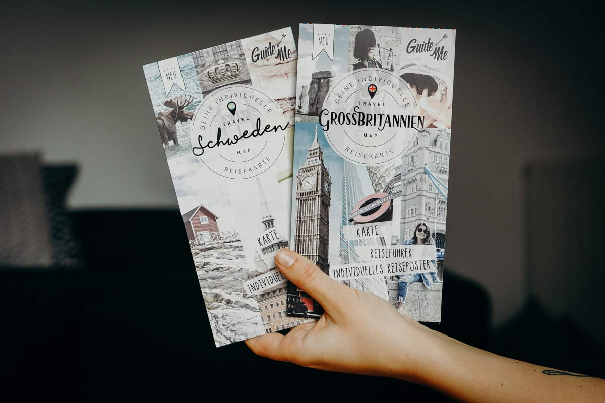 Reisekarten Travelmaps Guide Me