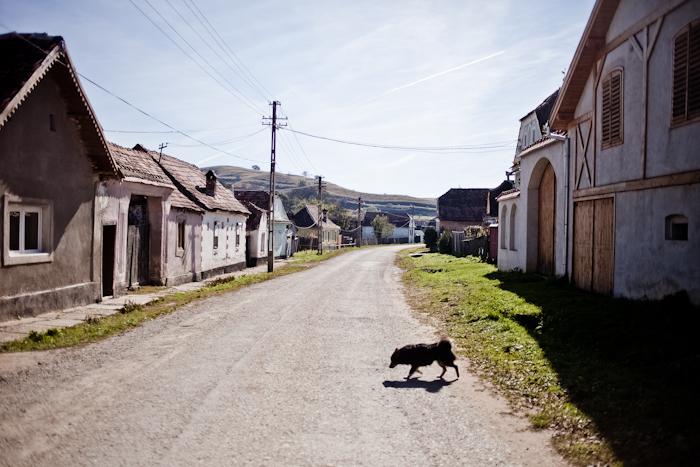 Dorf-Rumänien
