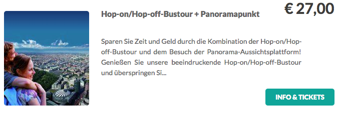 Berliner Hop On:Hop Off Tour Panorama