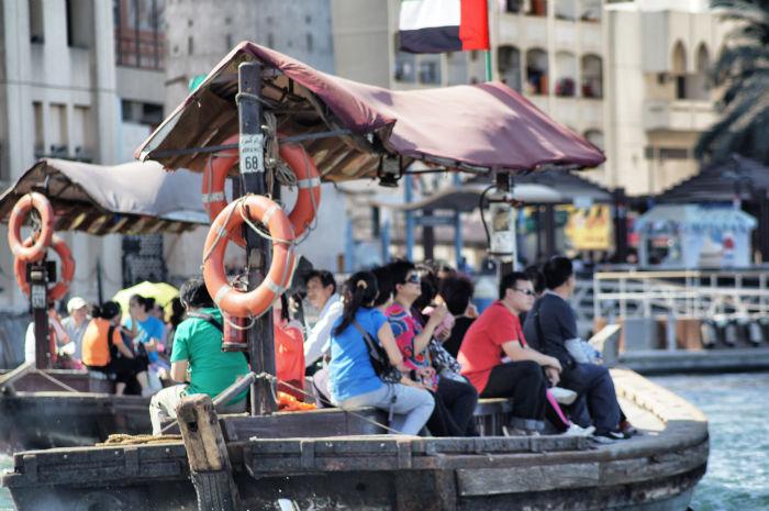 Dubai Boote zum Soukh
