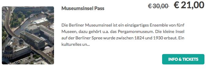 Museumsinsel Pass