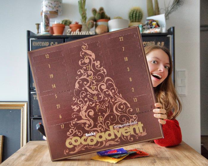 Trinkschokolade-Adventskalender
