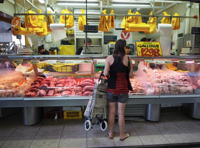 chilenischer Markt