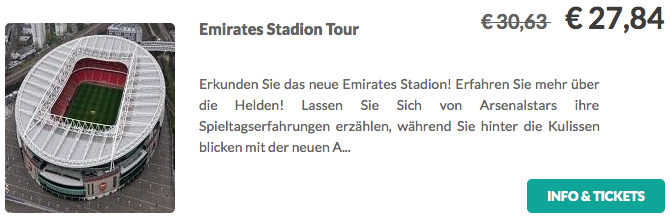 Emirates Stadion Tour