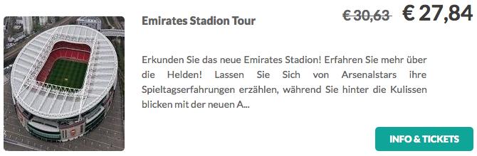Emirates Stadion Tour