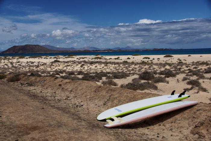 Flag Beach Strand Fuerteventura