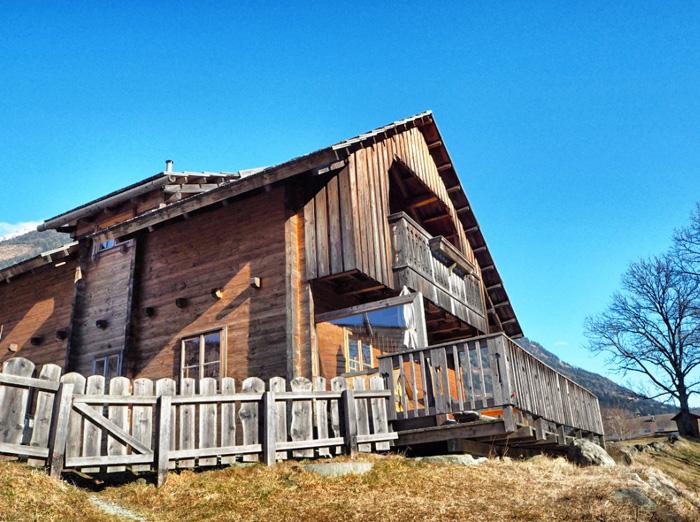 Holzhütte-Moserhof