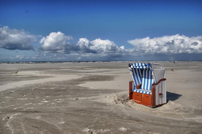 Juist-Strandkorb