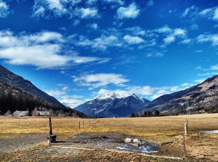 Landschaft-Kärnten