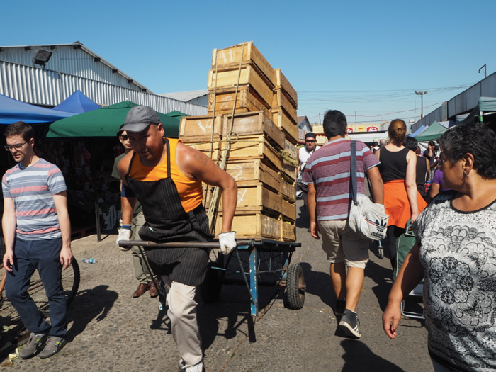 Markt-Santiago-de-Chile