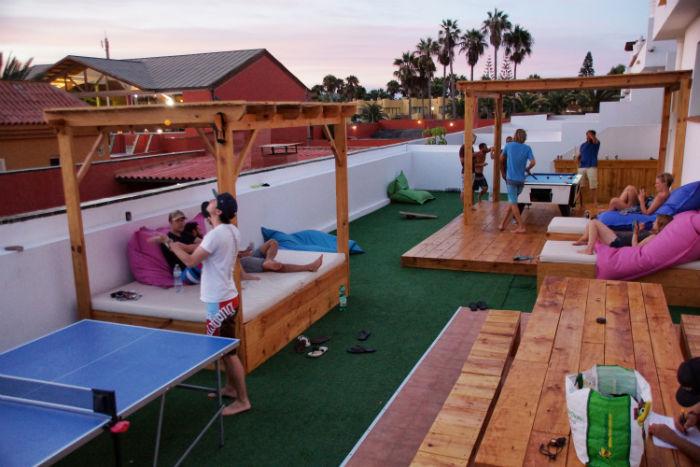 Planet Surfcamp Fuerteventura chillen