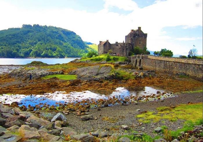 Schloss-Schottland