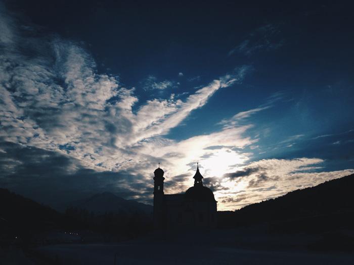 Seefeld-Sonnenuntergang
