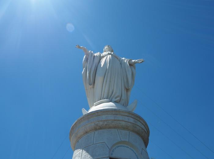 Statue-Stiago-de Chile