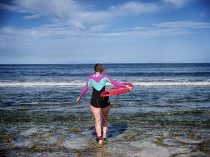 Surfen Flag Beach Fuerteventura 2