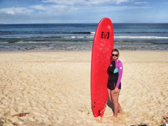 Surfen Flag Beach Fuerteventura 4