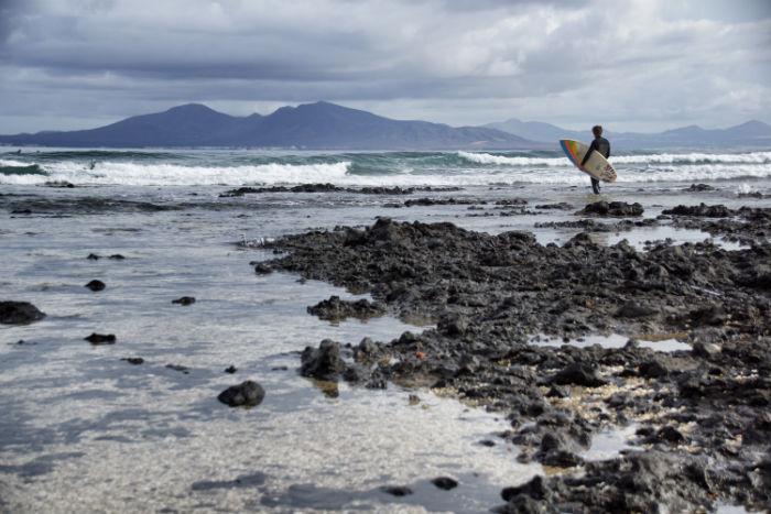 Surfen Rocky Point Fuerteventura