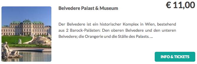 Belvedere Palast und Museum