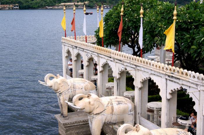 Elefanten in Udaipur