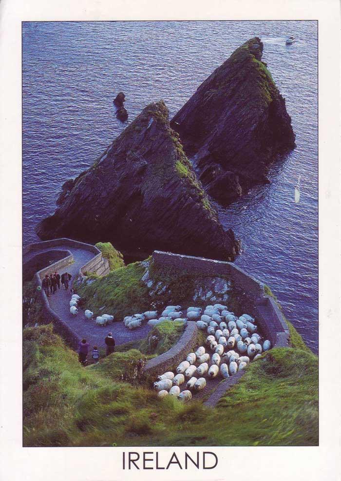Irlandpostkarte