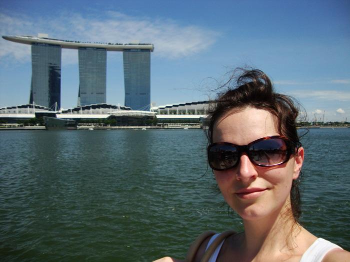 Janine-in-Singapur